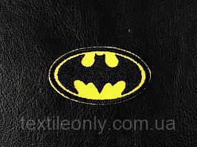 Нашивка Batman Бетмен xs 50х30 мм