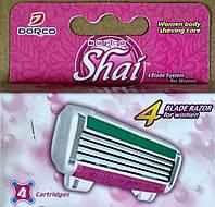 Жіночий картридж для гоління DORCO SHAI 4 (4шт)