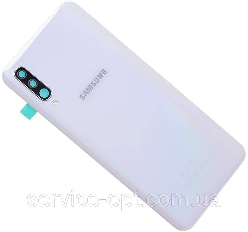 Задняя крышка Samsung A505 Galaxy A50 (2019) белая
