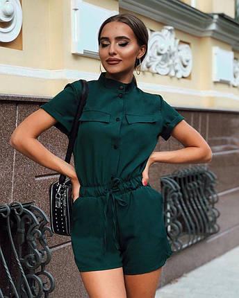 Летний комбинезон женский шортами/ XS-L, разные цвета, AL-Комбинезон, фото 2