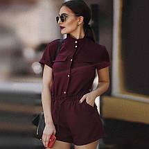 Летний комбинезон женский шортами/ XS-L, разные цвета, AL-Комбинезон, фото 3