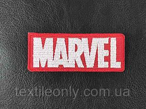 Нашивка Marvel / Марвел 80х30 мм