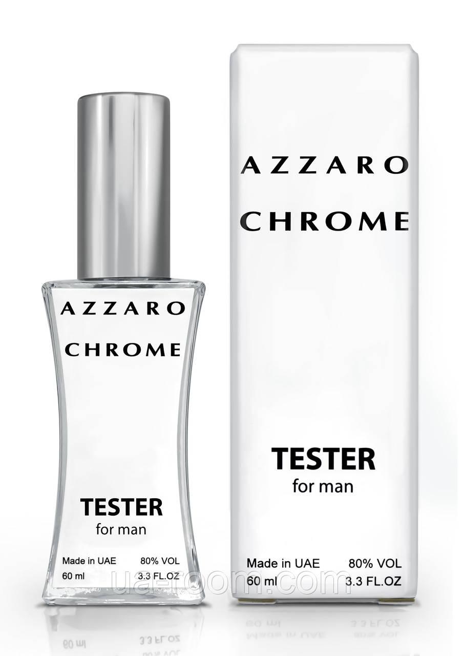 Тестер мужской Azzaro Chrome, 60 мл.