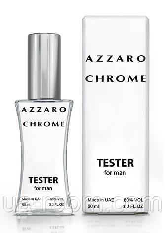 Тестер мужской Azzaro Chrome, 60 мл., фото 2