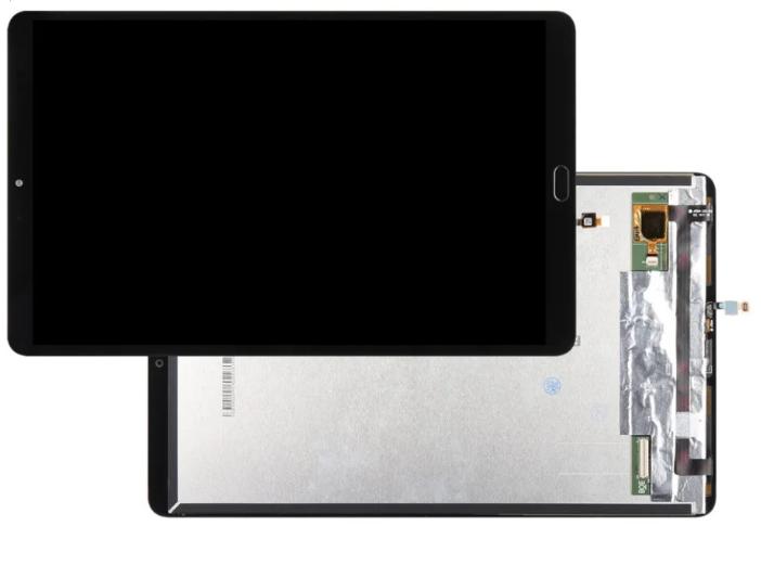 Дисплей Xiaomi Mi Pad 4 Plus со сканером отпечатка + сенсор чёрный