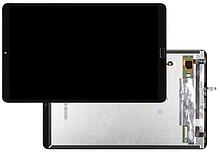 Дисплей Xiaomi Mi Pad 4 Plus зі сканером відбитка + сенсор чорний