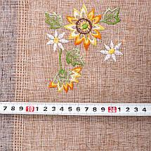 Скатерть из льна с вышивкой  130х180, фото 2