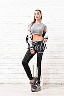 Женские спортивные штаны с люрексом, фото 1
