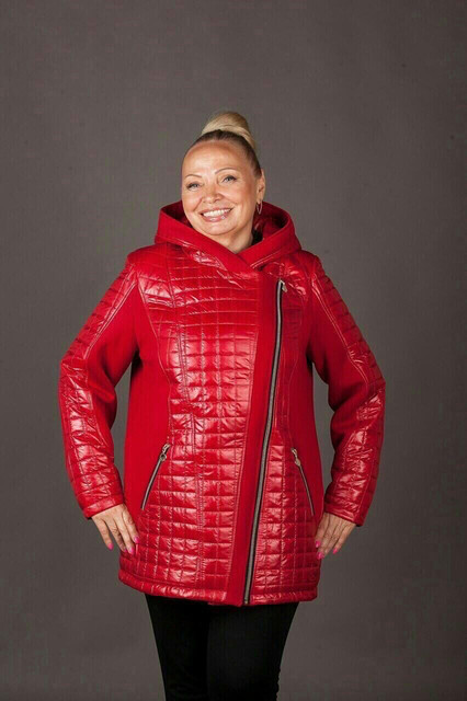 Куртки, пуховики, шубы женские зимние больших размеров
