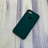 Чехол Silicone Case Apple iPhone 7/8/SE 2020 Forest Green
