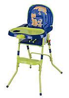 Детский стульчик для кормления HC100A сине-зеленый, фото 1