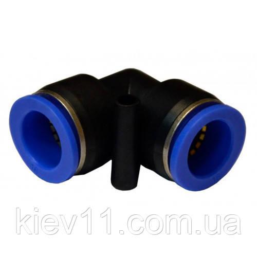 Соединение цанговое для шлангов Г-образное 6мм AIRKRAFT SPV06