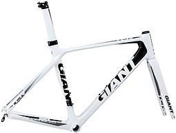 Рама Giant TCR Advanced белый/черный ML/53.5 (GT)
