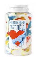 """Желейные конфеты Сладкая доза """"Между нами тает лед"""" 250 мл (sdz1)"""