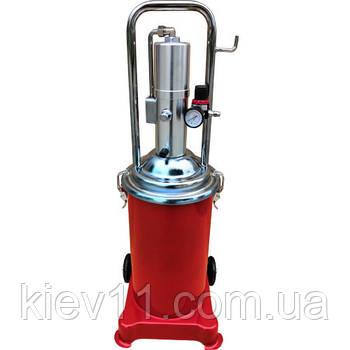 Солидолонагнетатель пневматический (15л.) G.I. KRAFT AGL-15