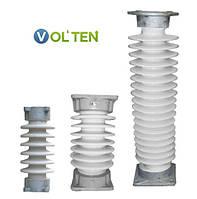 Изоляторы фарфоровые опорно-стержневые ИОС 10 - 110 кВ.