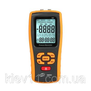 Дифференциальный манометр USB, ±2,49 кПа BENETECH GM505
