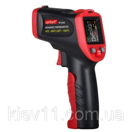 Пирометр (термогигрометр, термопара) -50-850°C WINTACT WT323D