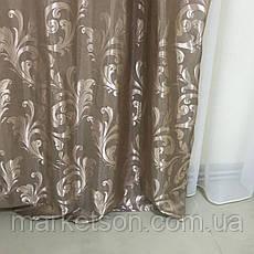 Готовые шторы из жаккарда 150х270, фото 2