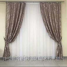 Готовые шторы из жаккарда 150х270, фото 3