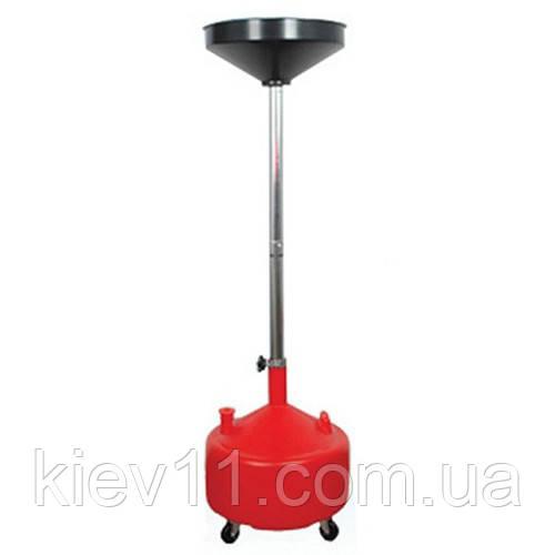 Установка для слива масла пластиковая (30 л) G.I.KRAFT HDP-30