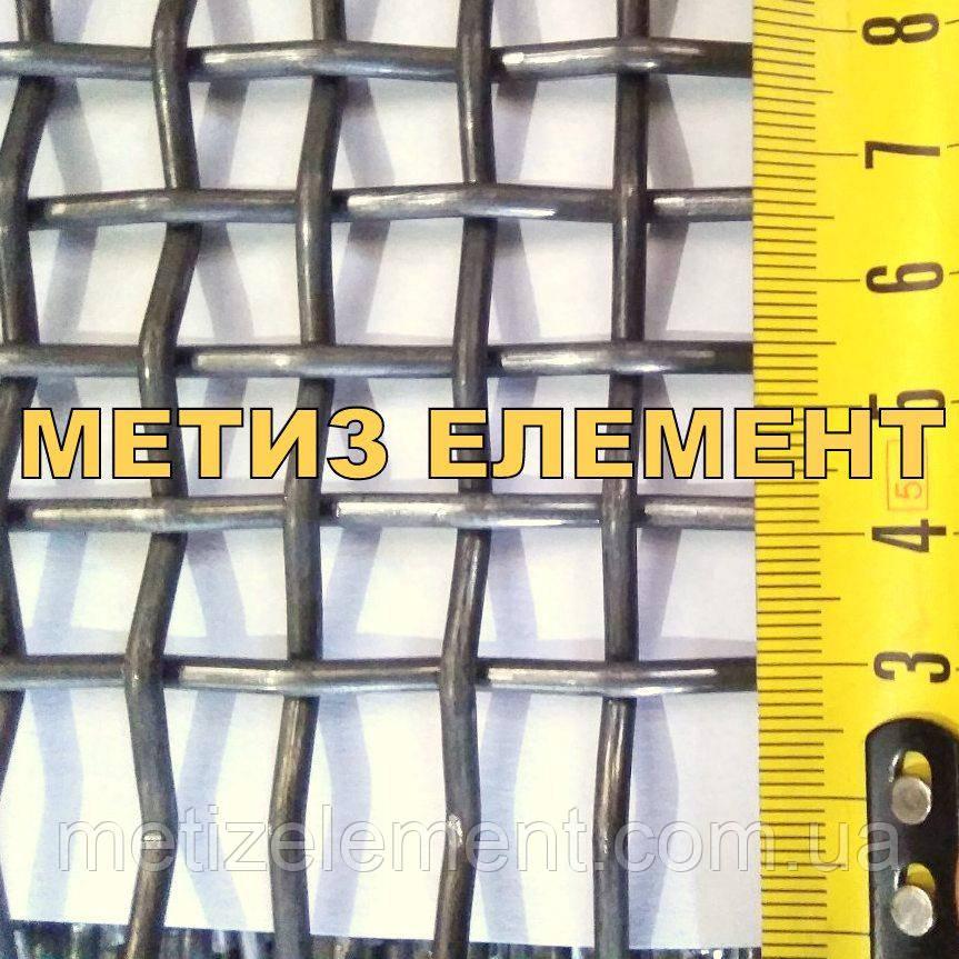 Сетка рифленая 4x1.8мм (Р4) - карта 1.75x4.5м
