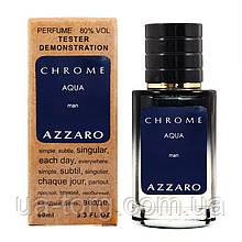AZZARO Chrome Aqua TESTER LUX, мужской, 60 мл