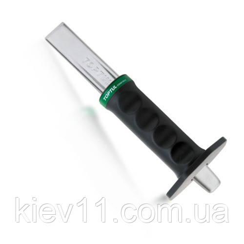 Ручное зубило TOPTUL 29х250 (в защитном чехле) GAAE0201