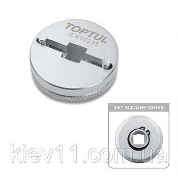 Инструмент для развода поршней тормозных цилиндров TOPTUL 20-35мм 2 штифта JEBY0235