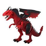 Дракон интерактивный RS6188A-89A, 48 см, пускает пар, ходит, двигает головой., фото 6
