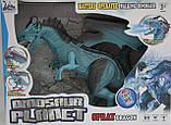Дракон интерактивный RS6188A-89A, 48 см, пускает пар, ходит, двигает головой., фото 7