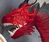 Дракон интерактивный RS6188A-89A, 48 см, пускает пар, ходит, двигает головой., фото 10