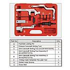 Набір фіксаторів розподільного вала 10 од. (Mini, Citroen, Peugeot) TOPTUL JGAI1004, фото 2