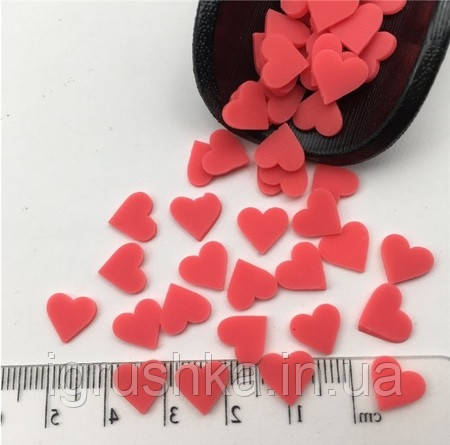 Фимо «Серце» для слаймов (50568)