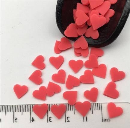 Фимо «Серце» для слаймов (50568), фото 2
