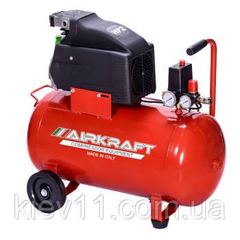 Компрессор бытовой 50л 170л/мин 220В AIRKRAFT AK50-170-ITALY