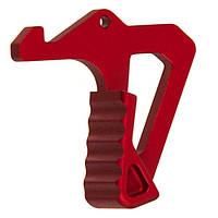 Увеличенная ручка затвора Strike industries для AR15 red