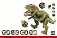 Интерактивный динозавр ходит, светится, открывает пасть, рычит, TT352, зеленый, фото 1