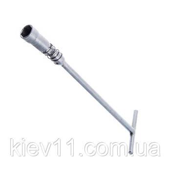 Ключ торцевой свечной 16 мм с карданом (Харьков) СВ16КАРДХ
