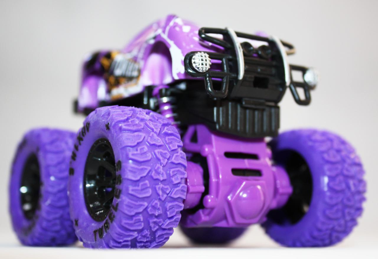 Детская инерционная машинка А12-21, фиолетовая