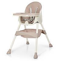 Детский стульчик для кормления M 4136, розовый, фото 1