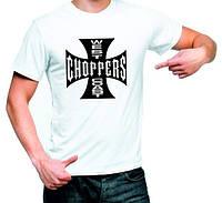 """Футболка """"west coast choppers"""""""