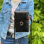 Черная сумка - кошелек, фото 3