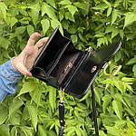 Черная сумка - кошелек, фото 4