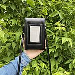Черная сумка - кошелек, фото 5