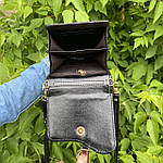 Черная сумка - кошелек, фото 6