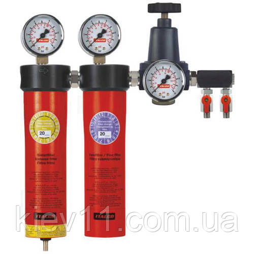 Блок для подготовки воздуха профессиональный (2 ступени) ITALCO AC6002