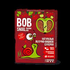Натуральні фруктово-ягідні цукерки Яблоко-Вишня Bob Snail, 120г