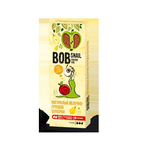 Натуральні фруктові цукерки Яблоко-Груша Bob Snail, 30г