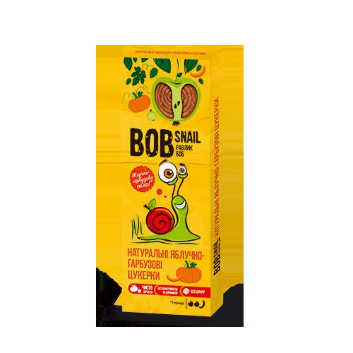 Натуральні фруктові цукерки Яблоко-Гарбуз Bob Snail, 30г
